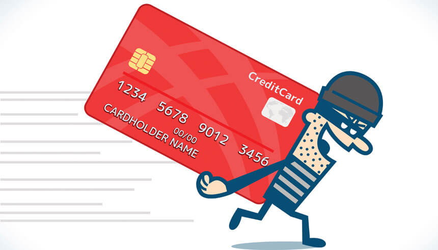 Stealing credit card information