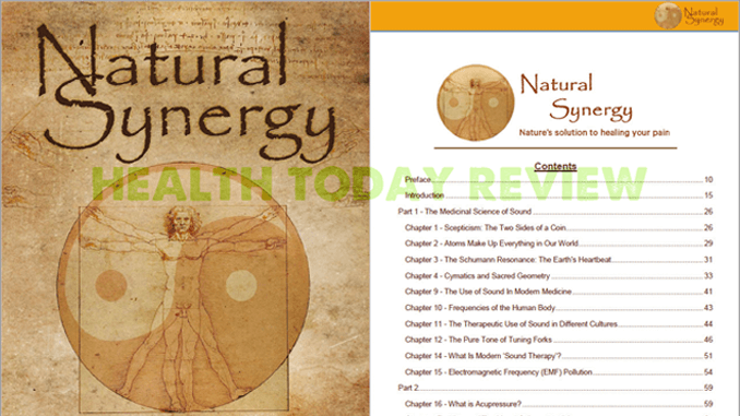 Cover and table of contents - The Natural Synergy Review