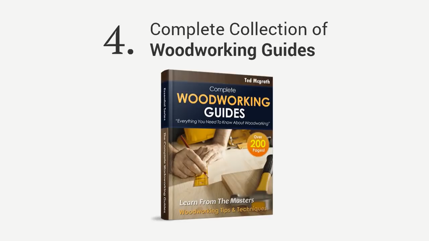 Facts about Teds Woodworking course - bonus 4
