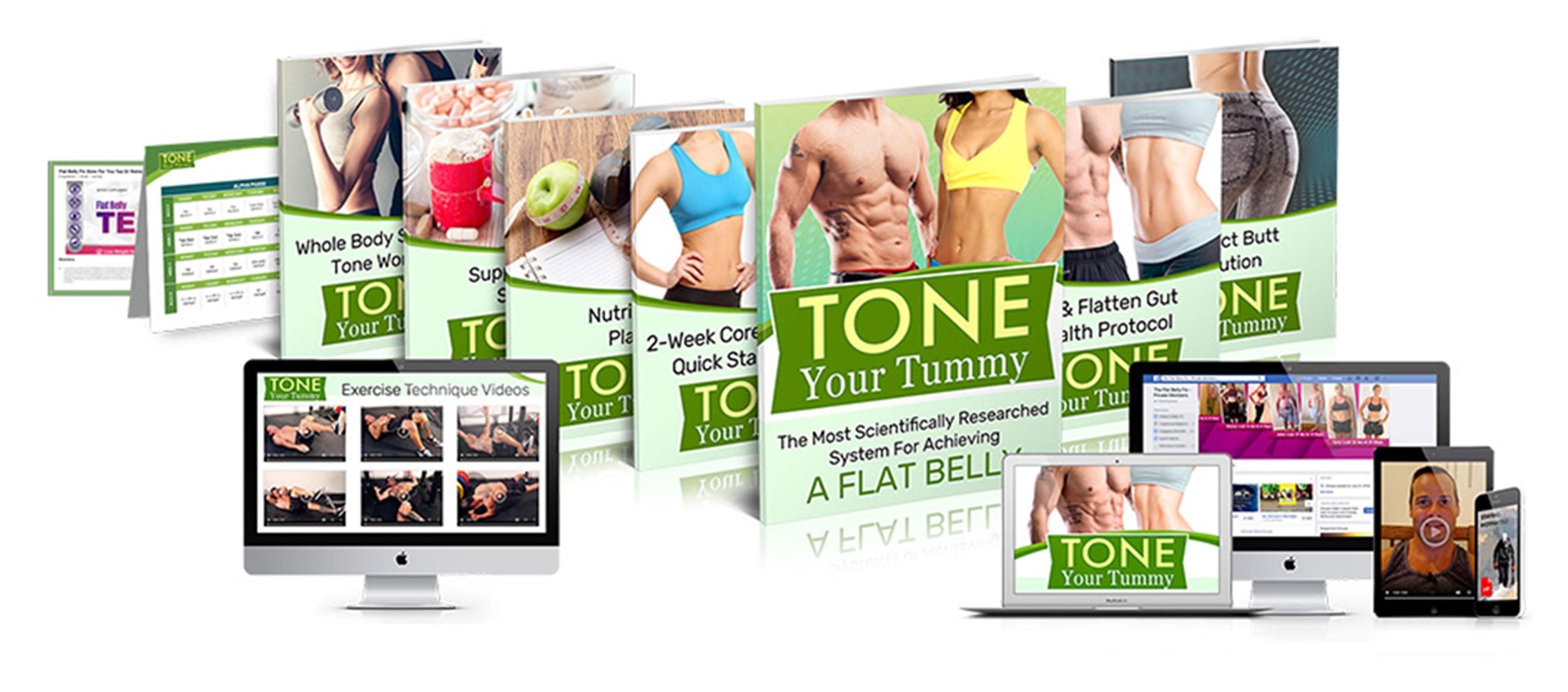 tone your tummy review- books