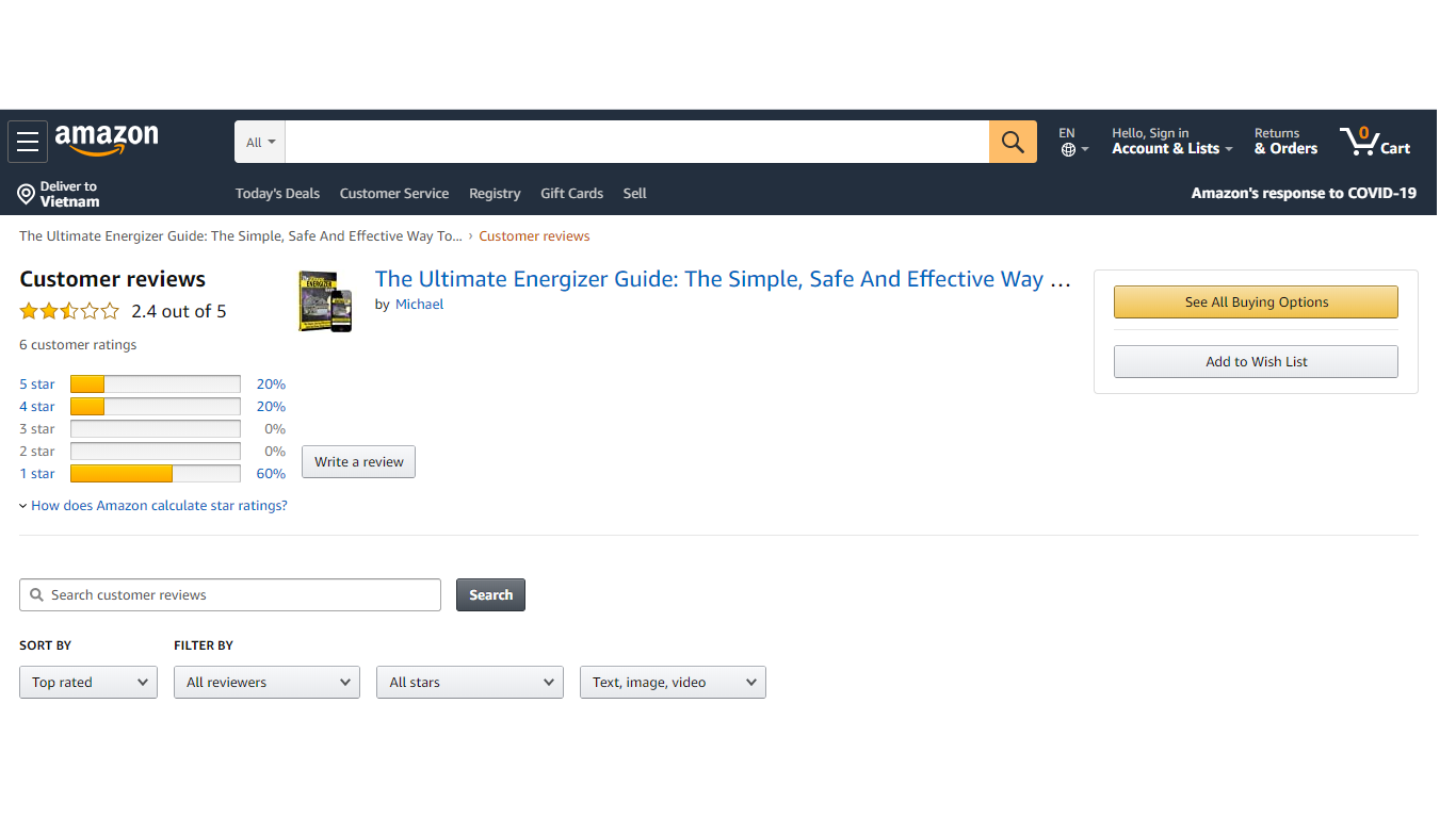 Customer Review - The Ultimate Energizer Guide Review