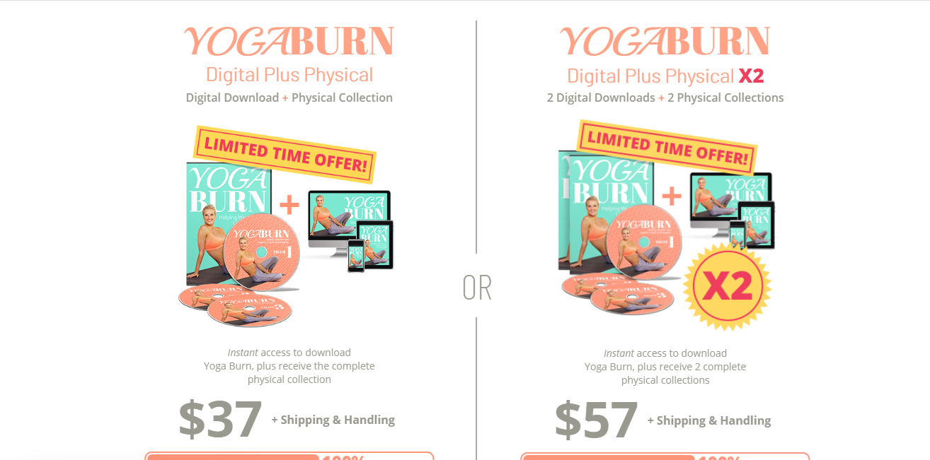 Yoga Burn Challenge Review- price