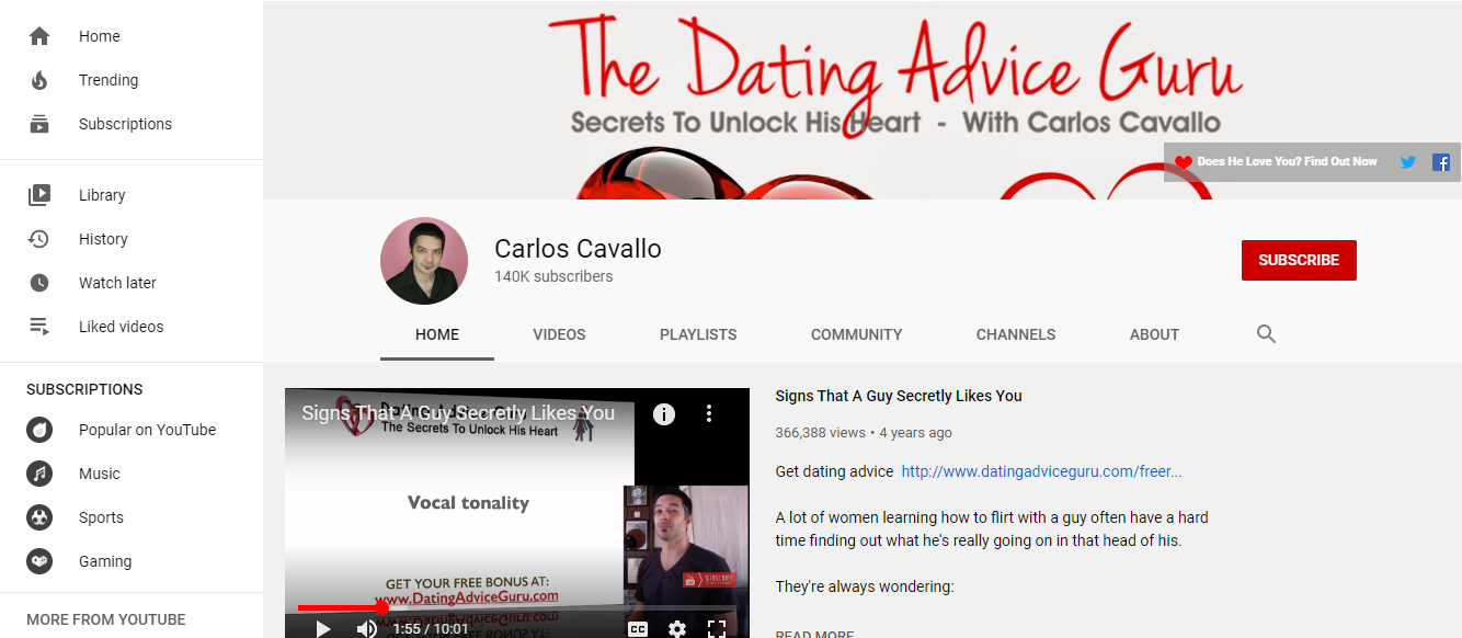 Carlos Cavallo's Passion Phrase Review- author's youtube