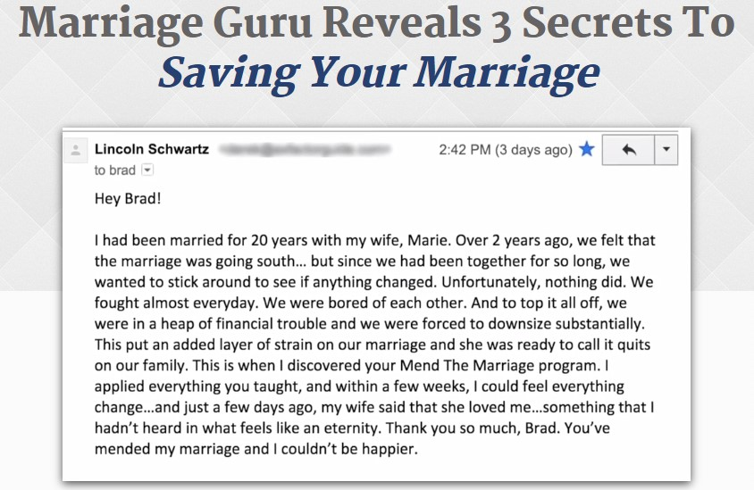 Source Mend The Marriage