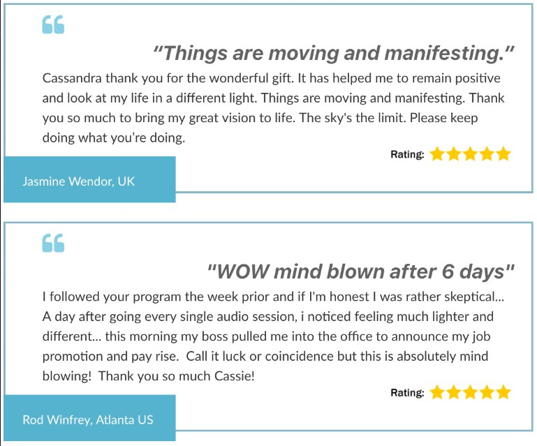 Customers' Feedback on the site 1