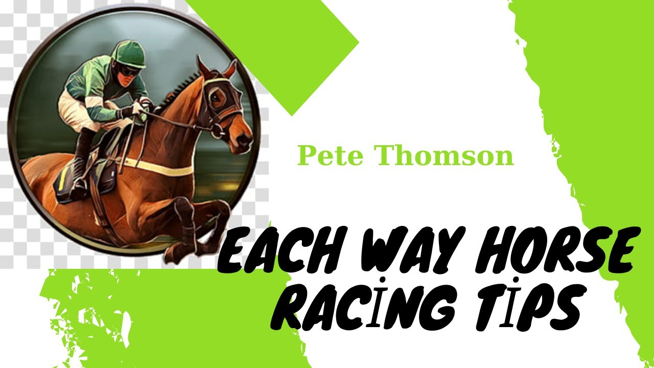 Pete Thomson - author of Each Way Tips