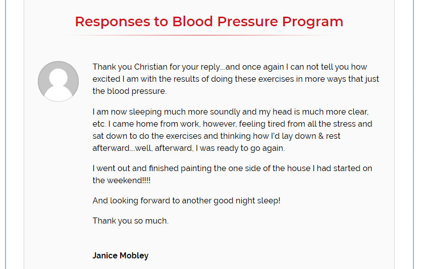 the blood pressure solution reviews